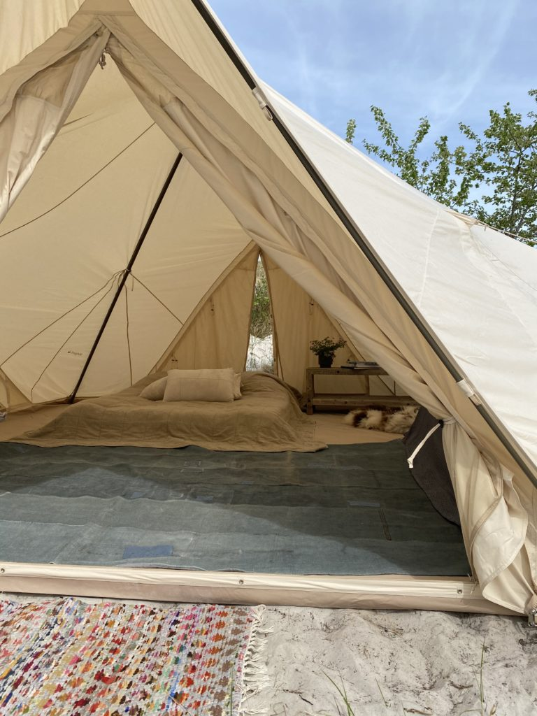 Glamping, Easy Camping …